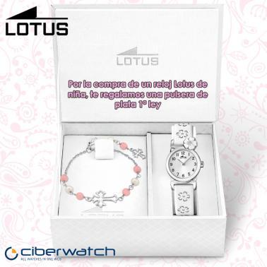f2d7620d53bb ... Reloj Lotus Primera Comunión Niña 15716 4 + Regalo Pulsera Plata ...