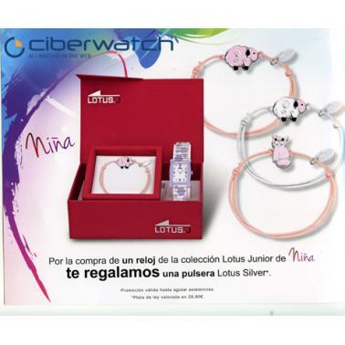 80469b1a9565 ... Reloj Lotus Primera Comunión Niña 15768 4 + Regalo Pulsera Plata ...