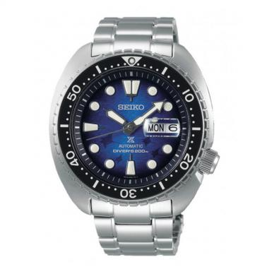 Reloj Seiko Prospex Save The Ocean King Turtle Manta Raya SRPE39K1