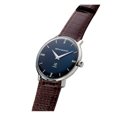 Reloj Smith & Smoorcer Fisherman Dusk Elegance Dark Brown
