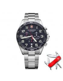 Reloj Victorinox Fieldforce Chrono V241857 + Regalo Navaja